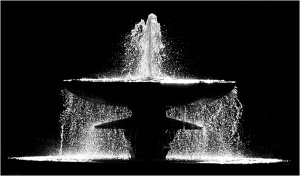 The Fountain  DPI by Ernie Howard